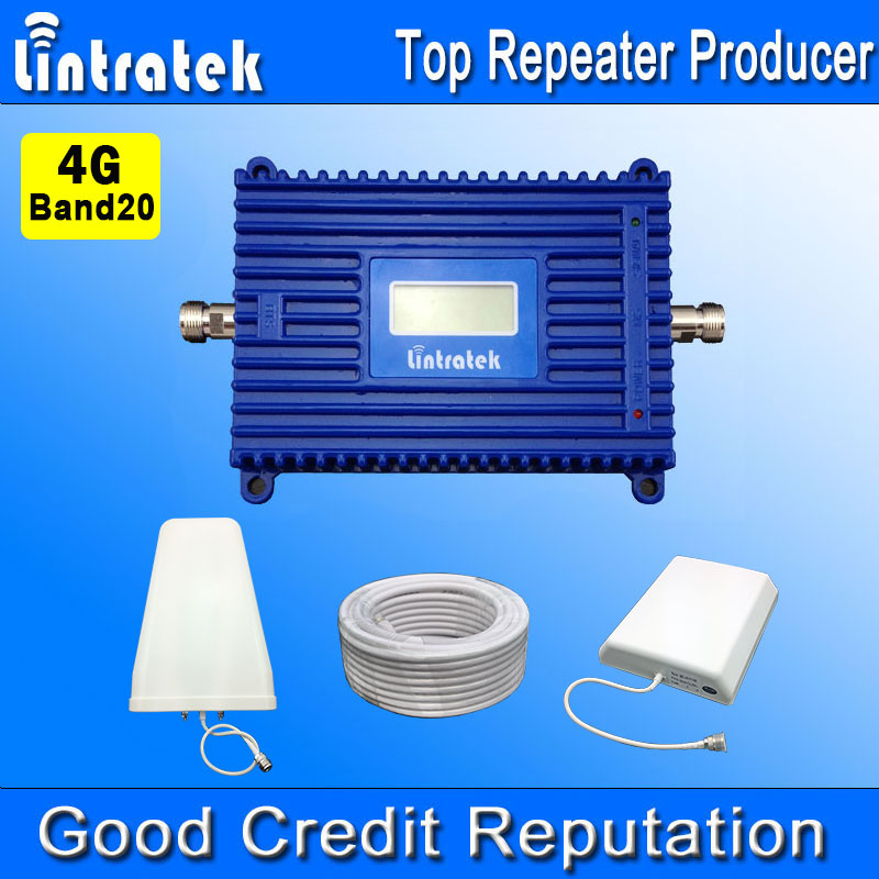 Lintratek Cell Phone Signal Booster Repeater Amplifier 4G