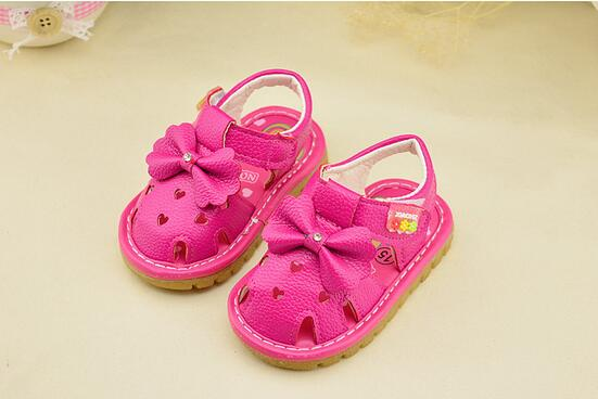 1-3 years old children sandals shoes fashion causal flat with baby sandals  summer flower soft bottom child girls sandal shoes 7c509cbd9964