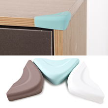 4 Pcs/lot  Baby Safety Edge Corner Guards Soft Corner Table Protector Child Safety  Safe Proof Cushion Guards Protector