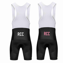 NEW RCC bib shorts mtb bicicleta summer men cycling pro team New italy fabric 40D Lycra triathlon Pad