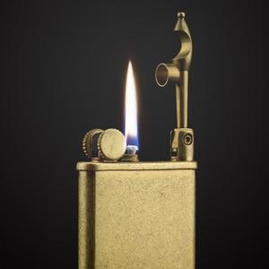 Image 4 - Original IMCO Lighter Retro Gasoline Kerosene Lighter Genuine Ultra Thin Cigarette Lighter Cigar Fire Briquet Petrol Lighters