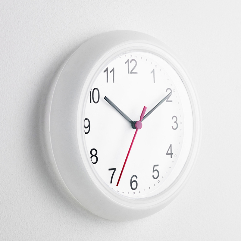 Velkoobchody Analogové levné digitální digitální křemenný nástěnné hodiny 25CM domácí dekorace kulaté velké hodiny