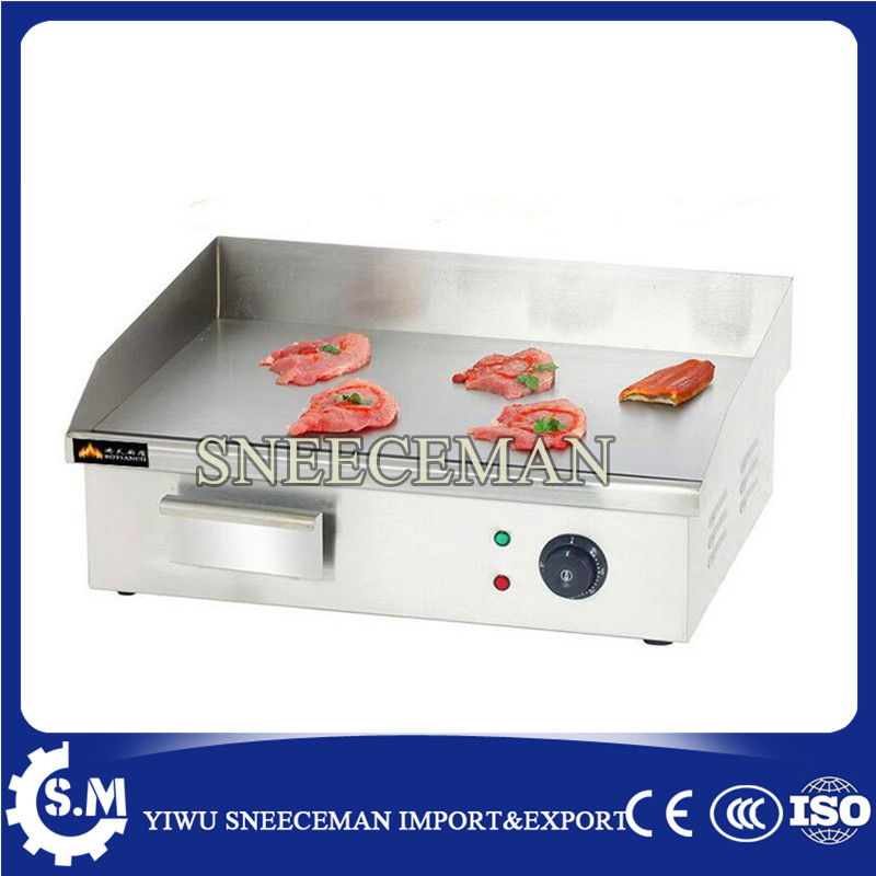 best price of flat electric griddle grill machine