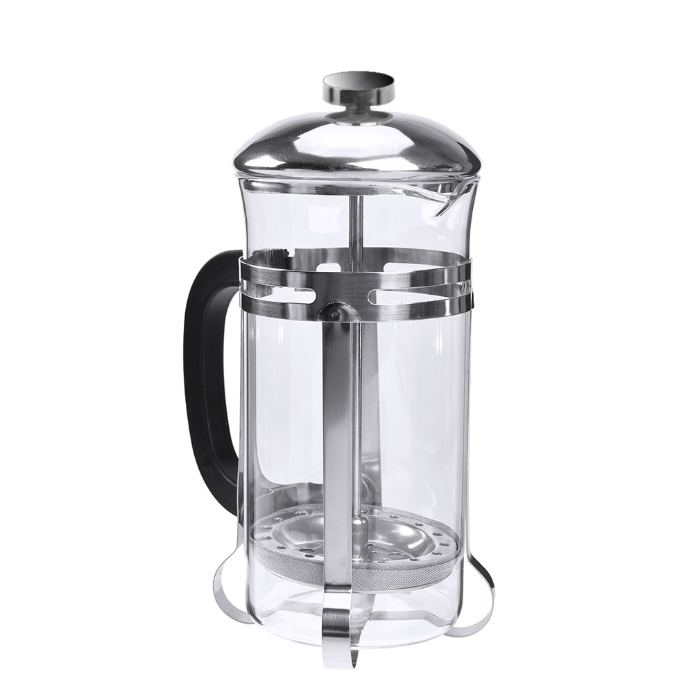 uarter coffee press french press tea maker french tea press with heat resistant borosilicate. Black Bedroom Furniture Sets. Home Design Ideas