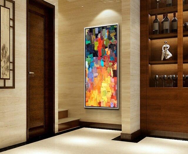 Abstracto moderno cuadros decoracion sal n cuadros - Cuadros abstractos para salon ...