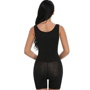 Image 4 - אופנה נשים Colombianas הודעה ניתוח מלא גוף Shaper גוף חליפת Powernet מחוך מותן Cincher מאמן Shapewear
