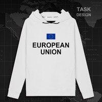 L'union européenne Unie dans La Diversité L'UE EUR hommes à capuche pulls hoodies hommes sweat streetwear vêtements de Sport survêtement