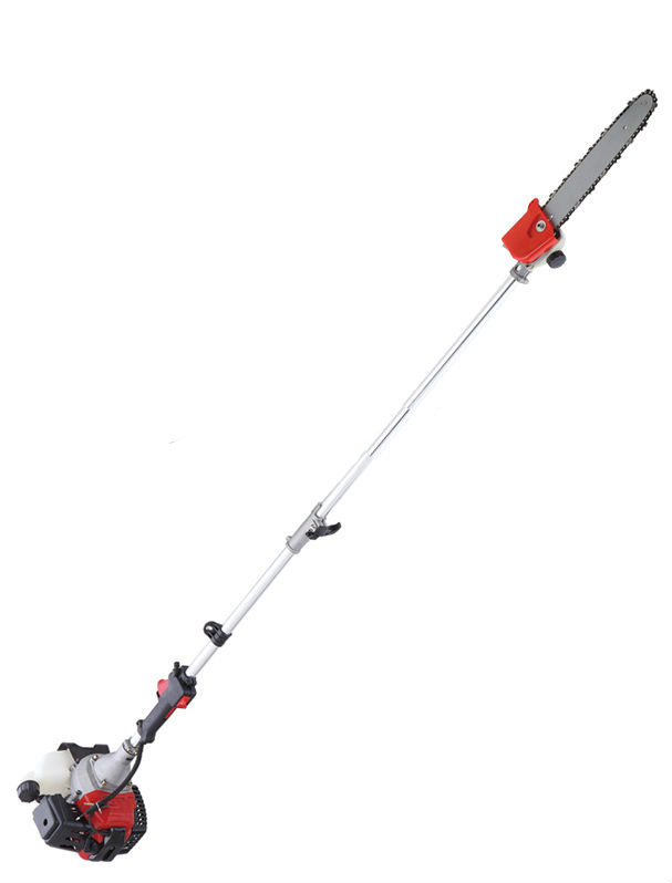 52cc Long Reach Pole Catena Seghe palo telescopico Benzina Catena Seghe Spazzola Albero Taglierina Potatore