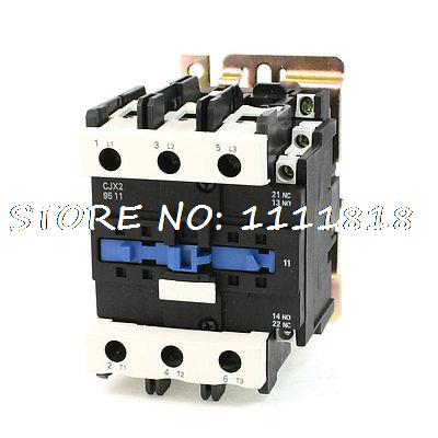 цена на CJX2-9511 DIN Rail Mount AC Contactor 3 Pole One NO 36V Coil 125A