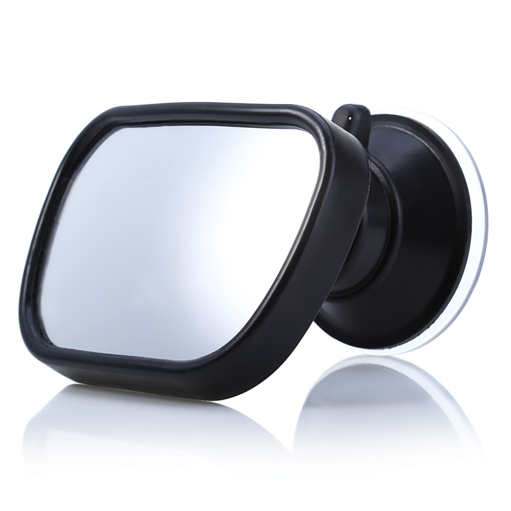 Mini 360 Degree Rotation Car Rearview Baby Mirror Rear View Safety Facing Car Back Seat Mirrors Headrest Mount Convex waterproof