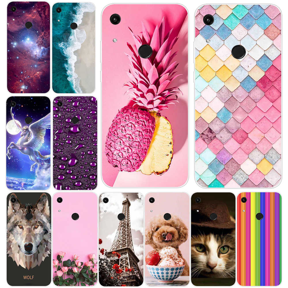 Phone Case Huawei Y6 2019 Honor 8A Case Back Cover For huawei honor 8A Case Silicone Soft TPU bumper Huawei Y6 Prime 2019 Cover
