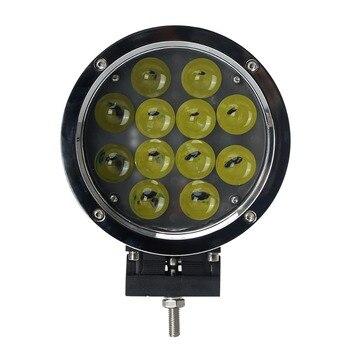 60W 12V Round Led Work Light Spot Beam For 4x4 Offroad Truck Tractor ATV Driving Lamp,SUV, ATV, UTV, 4 x 4, Sand rails, Cars