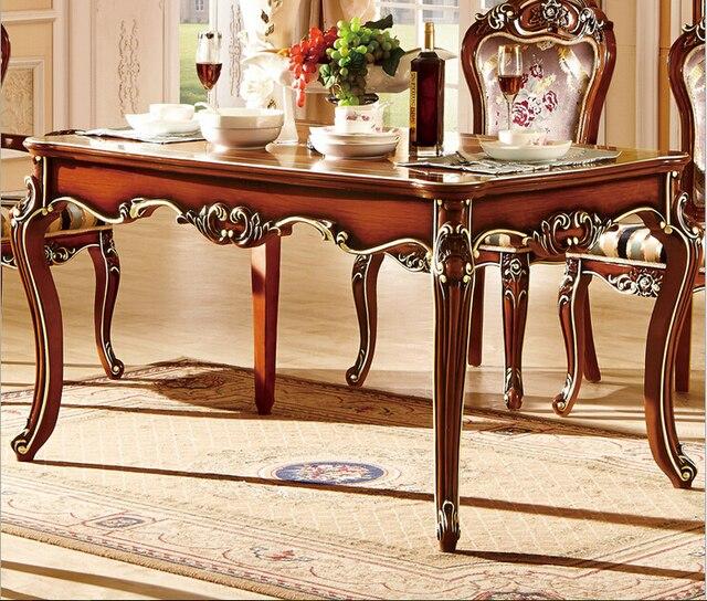€ 1444.16 |Mesa de comedor diseña mesa de mármol mesa de comedor conjunto  mesa de comedor 8 plazas en Sets para Comedor de Muebles en ...