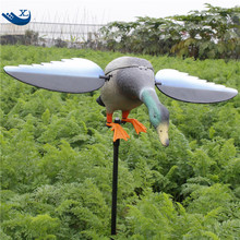 6V/12V Duck Motor Decoy Remote Control Drake Hunting Duck Decoys With Magnet Spinning Wings