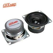 GHXAMP 2 بوصة مجموعة كاملة وحدة مكبر الصوت 8ohm 3 واط سمّاعات بلوتوث لتقوم بها بنفسك مربع مكبر الصوت منتصف مكبر الصوت فقاعة 2 قطعة
