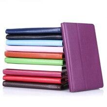 Ocube Para Lenovo Tab 3 Tab3 7.0 710 710L Esencial 710F 2-Folder Grano Litchi PU Casos de La Cubierta de Cuero Protectora de la Tableta