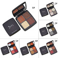 4 Colors Professional 3ceyes Makeup Eye Shadow Natural Nude Color Eyeshadow Palette Glitter Set Makeup Cosmetic Tool Hot Sale