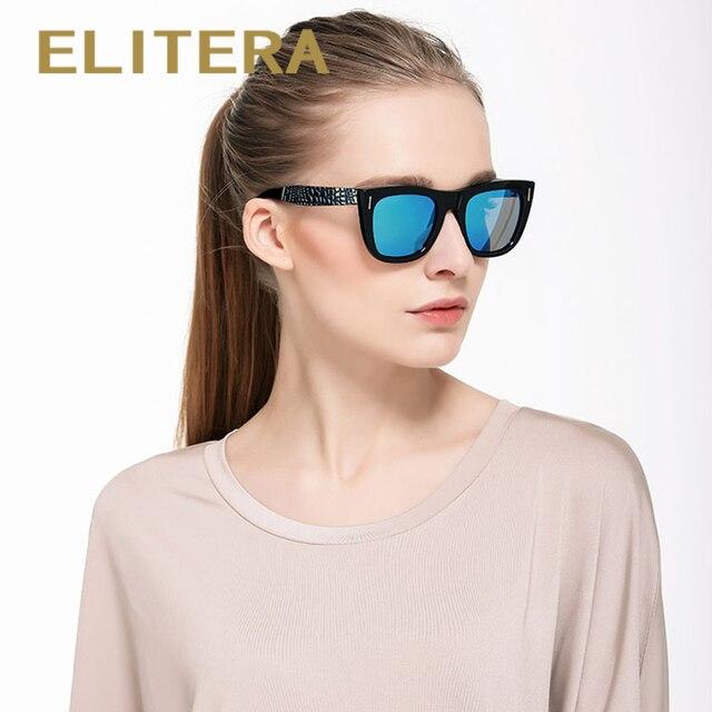 Elitera 2018 lujo marca mujeres del diseño de la vendimia Gafas de sol  oculos de sol e9391a2ca34a