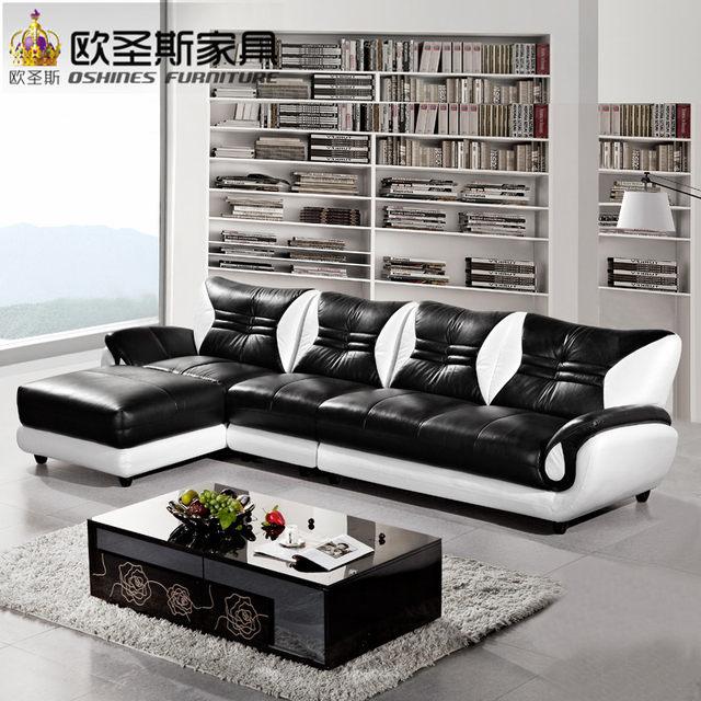 Famoso Imitación De Cuero Negro Muebles Escabel Colección de ...