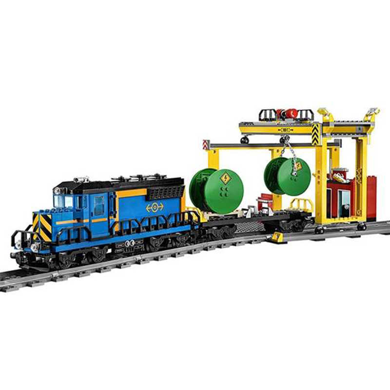 959 шт. 02008 Lepining City Train Building Block Brick Set RC Car дистанционное управление с мотором сборные игрушки для детей Подарки для мальчиков