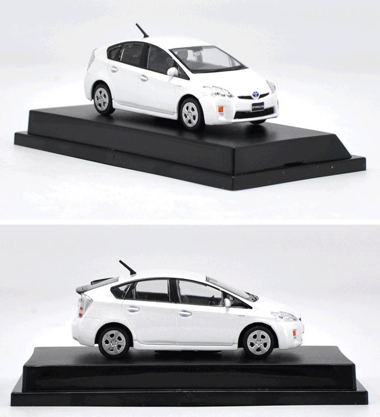 Toyota Prius 1:43 Metall Die Cast Modellauto Auto Model Spielzeug Weiß