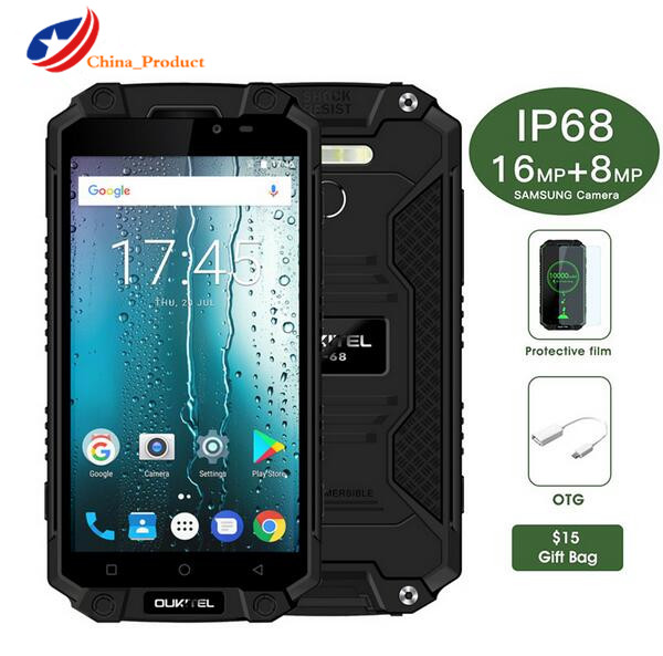 Oukitel K10000 Max 10000mAH IP68 Waterproof 3GB 32GB 5 5 Android 7 0 Octa Core Outdoor