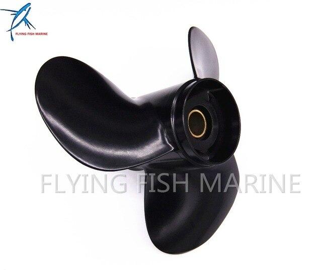 KIMISS 11-1 8X13-G 3 Blades Aluminum Outboard Propeller for S uzuki DF40 DF50 DF60 DT40 DT50 DT60