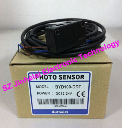 New and original BYD100-DDT Autonics PHOTO SENSOR DC12-24V original authentic sensor byd100 ddt