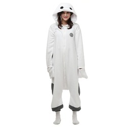 هالوين عيد الميلاد هدية الساخنة baymax الصوف نيسيي هوديي منامة homewear النوم رداء للبالغين