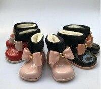 3 colores de los niños pato lindo lluvia Botas Niños y Niñas bebé antideslizantes chanclos impermeables para niños lluvia de goma botas