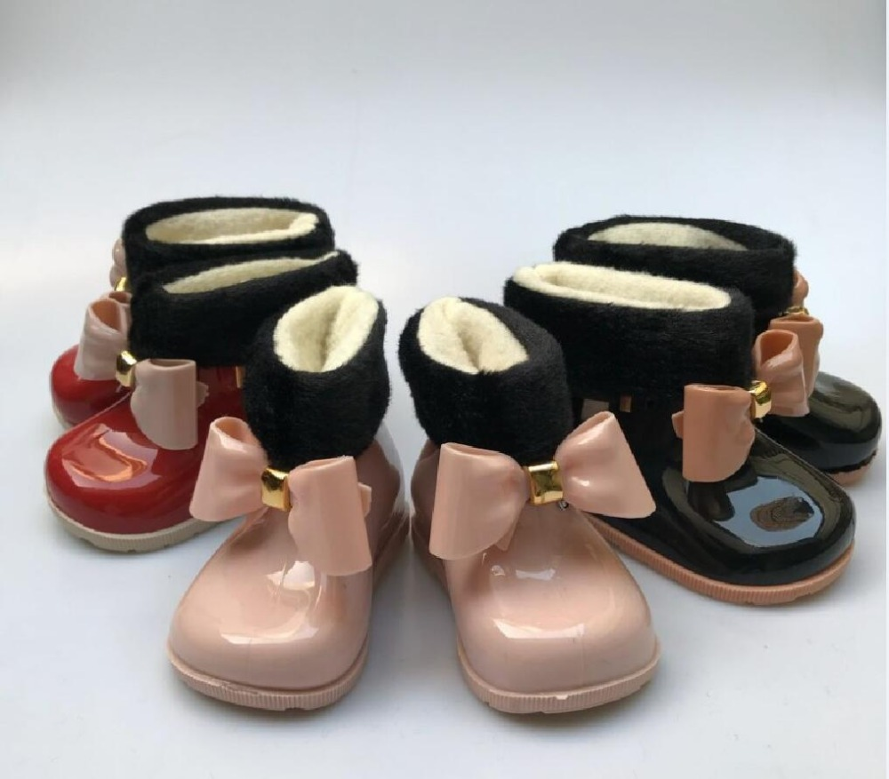 3 Colors Children's Cute Duck Rain Boots Boys And Girls Slip Baby Shoes Overshoes Waterproof For Kids Rubber Rainboots