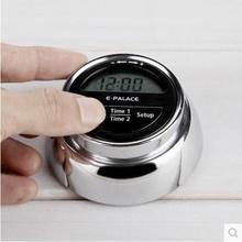 Hochwertige kreative doppelstock kreis küche zeitschaltuhr lernen kochen schlafen erinnerungen timer mit magnet