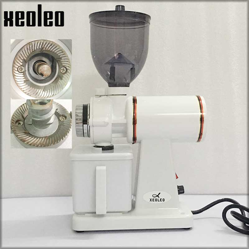 XEOLEO Italy Coffee grinder 150W Electric Coffee grinder Yellow/white/black Blade Coffee miller Household Milling machine 250g xeoleo electric coffee grinder commercial