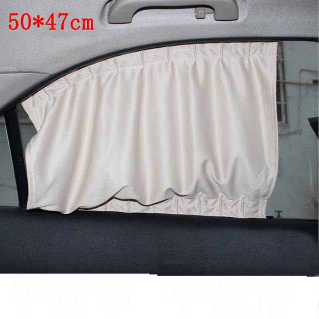 Curtains Ideas car window curtain : Aliexpress.com : Buy 2PCS 50*47CM Universal car sun shade ...