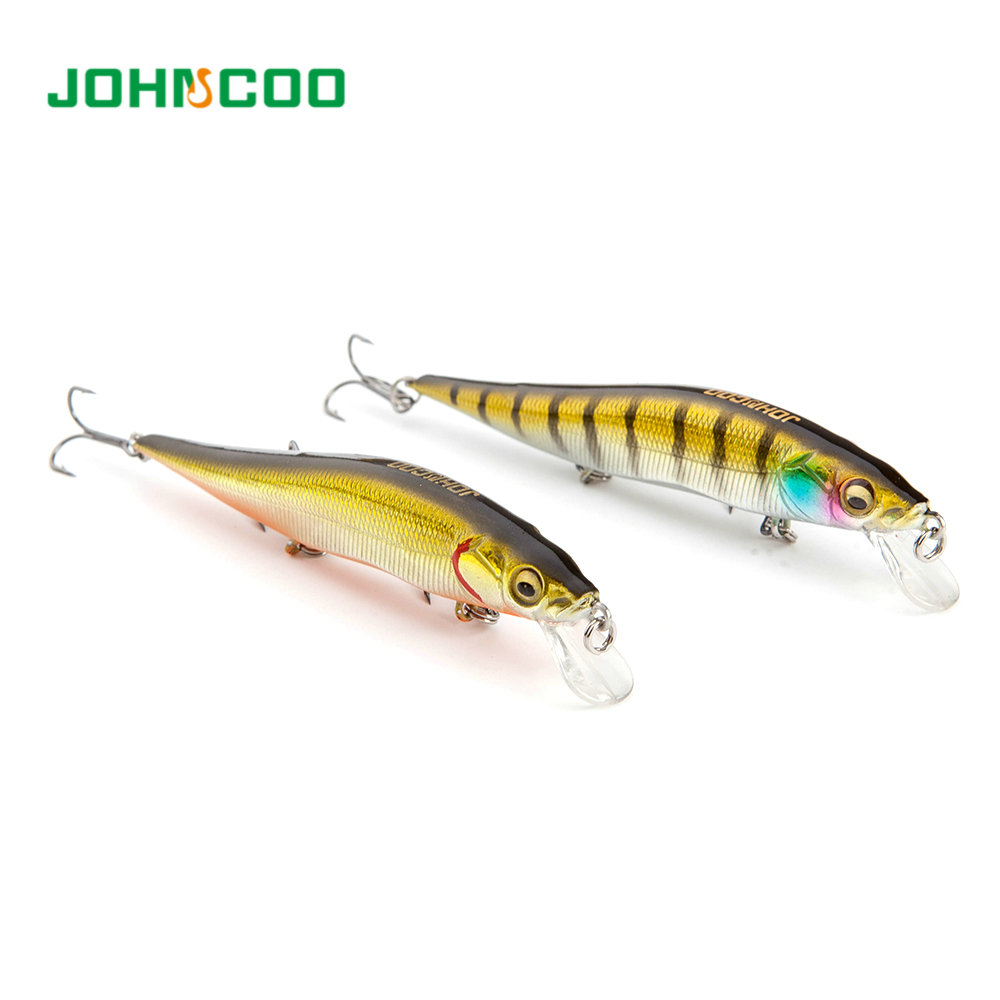 Fishing lures 98mm/9.8g Vision Minnow Fishing Bait Super Twitching Wobbler casting New model hard bait quality wobblers