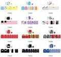 16 Dicas/Pc Os Novos Pés Afixada Na Moda Unhas Adesivos Unha Polonês Adesivos Ambientais F Série F1001-1012