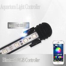 купить 60CM Fish Tank Light For Aquarium Led Lighting Marine RGB LED Lamp For Aquarium LED Light Fish Tank Lamp With Remote Controller дешево