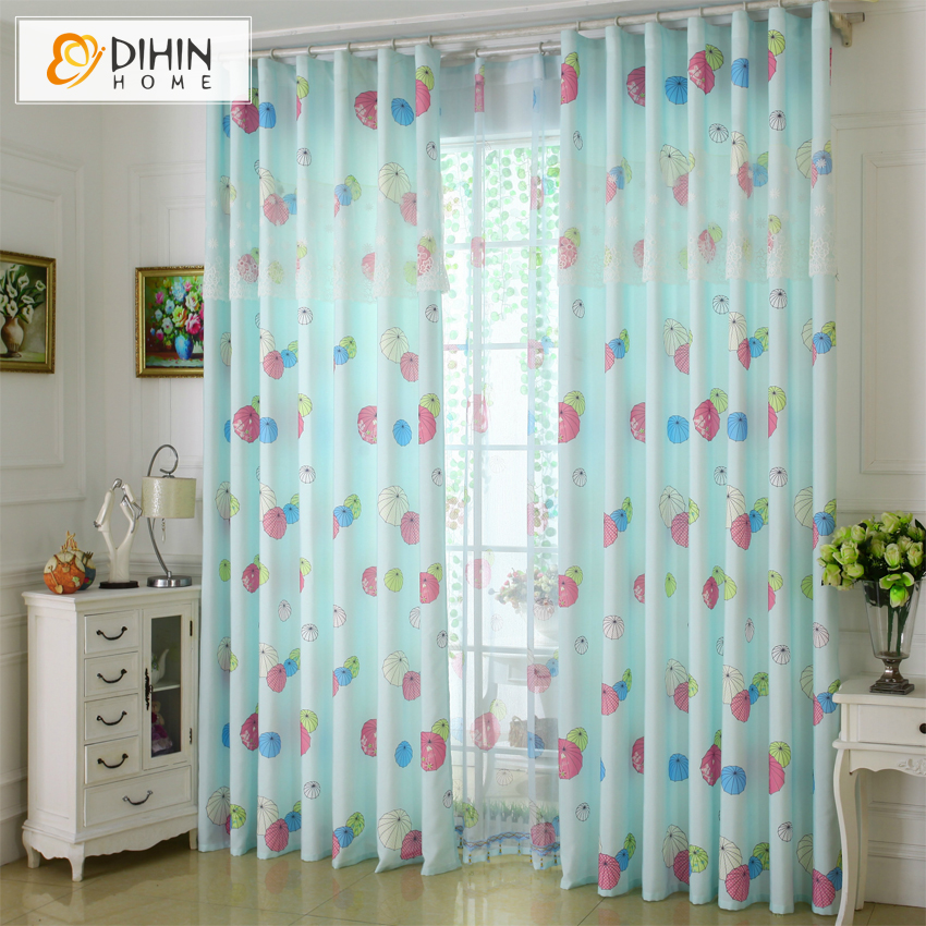 DIHIN 1 PC Hot Sales Cartoon Children Lovely Girls And Boy Curtains For  Living Room Drapes Ready Made Cortina In Curtains From Home U0026 Garden On ...