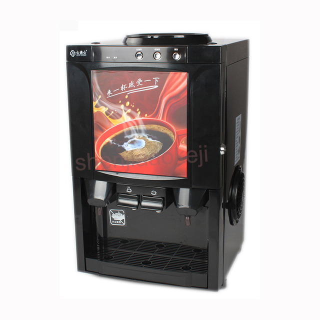 1pc Milk-tea coffee machine hot beverage machine drinking fountains household small desktop automatic instant coffee machine