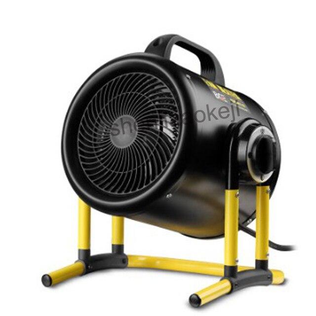 High power 3kw electric heater  industrial air warming workshop net cafe air heater Warm air blower 220v 1pc