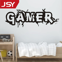 Jiangs Yu 1 PC Game Sticker Gamer Decal Gaming Posters Vinyl Wall Decals Decor Mural Video