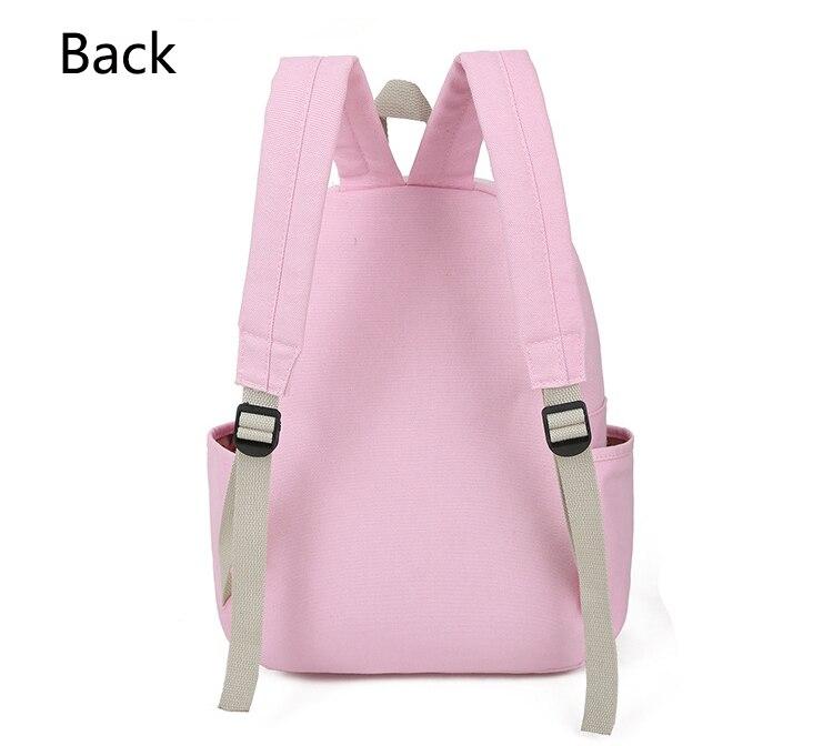Cute Cat Print Backpack