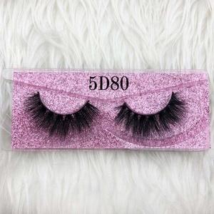 Image 2 - Mikiwi cílios grossos de vison 5d, feito a mão, full strip, rosa, dourado, cruelty free, sem crueldade animal, maquiagem de luxo, cílios dramáticos 3d