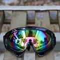 1 unid nuevo outdoor riding motorcycle goggles gafas gafas de motocross ski snowboard gafas de protección anti-viento espejo tácticas