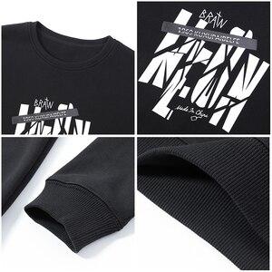 Image 5 - Pioneer camp nowa zimowa bluza polarowa bluzy męskie marki odzież casual bluza z nadrukiem jakości bawełny dres AWY806084