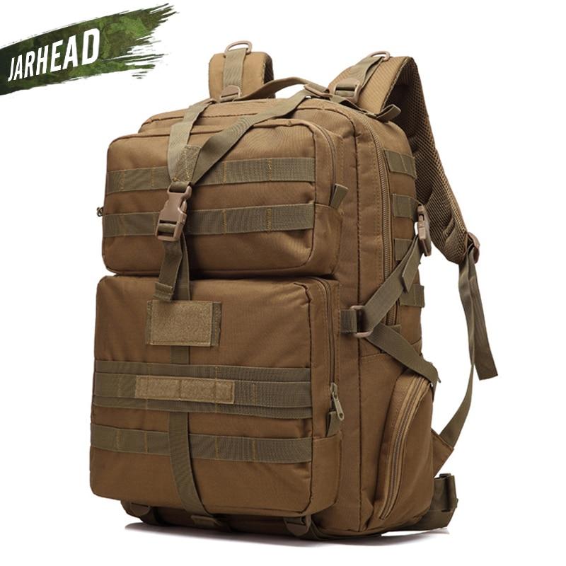 Nouveau Camouflage escalade randonnée sac à dos Molle 900D oxford Camping sac à dos Sport extérieur vélo sac à dos Camping Trekking sac - 3