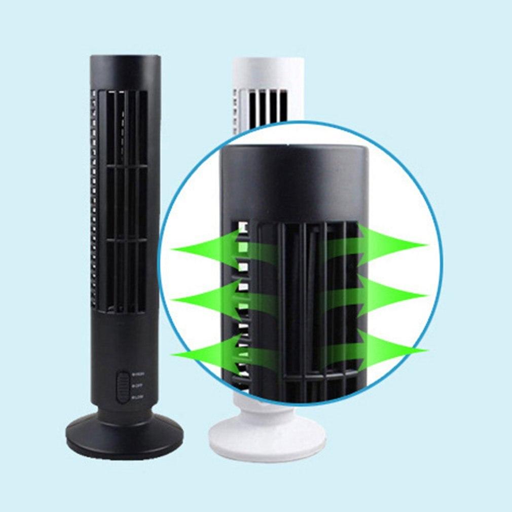 Mini Bladeless USB Fan Summer Home Desktop Computer Electric Cooling Fan~~