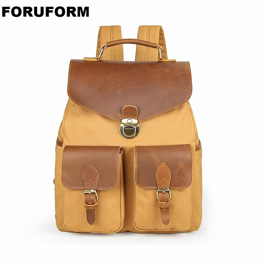 Man's Canvas Backpack Travel Schoolbag Male Backpack Men Large Capacity Rucksack Shoulder School Bag Mochila Escolar LI-2256 new arrival man s canvas backpack travel schoolbag male backpack men large capacity rucksack double shoulder school bags h028