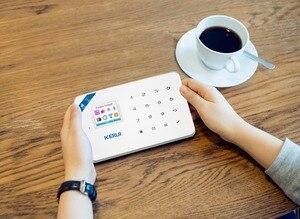 Image 2 - KERUI W18 בקרת פנל WIFI GSM SMS בית פורץ אבטחה