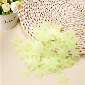 3D Stars Stickers for Kids Room 4